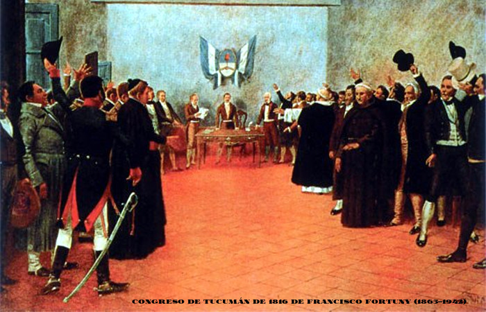 El-Congreso-de-Tucumán-1816-Francisco-Fortuny