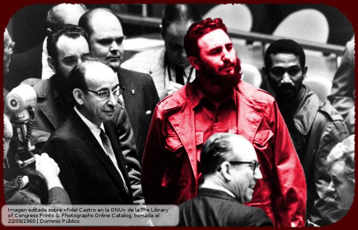 Fidel Castro en la ONU 1960