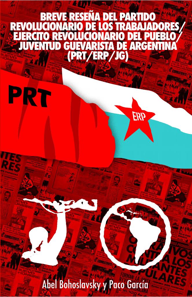Portada libro Breve Reseña Histórica de PRT ERP JG