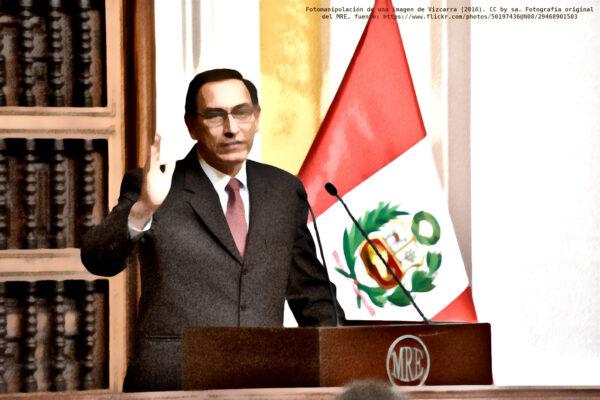 Fotomanipulación de Vizcarra.