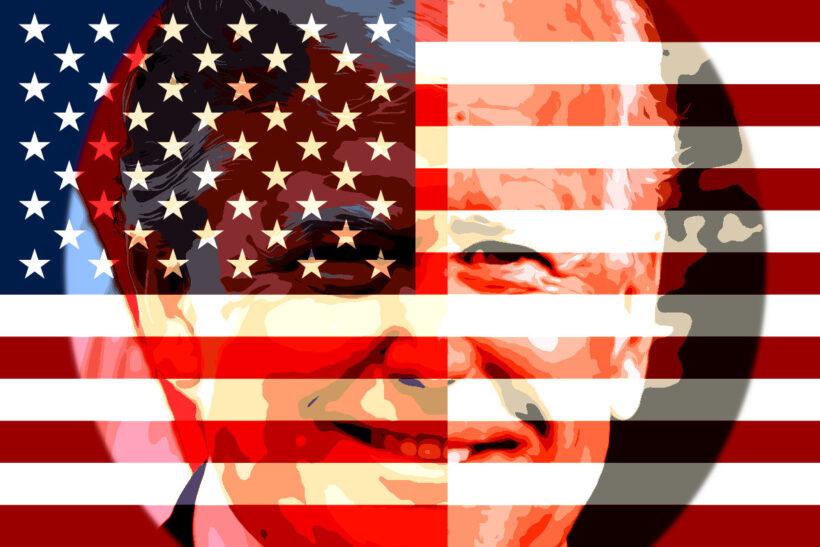 Fotomontaje Biden Trump