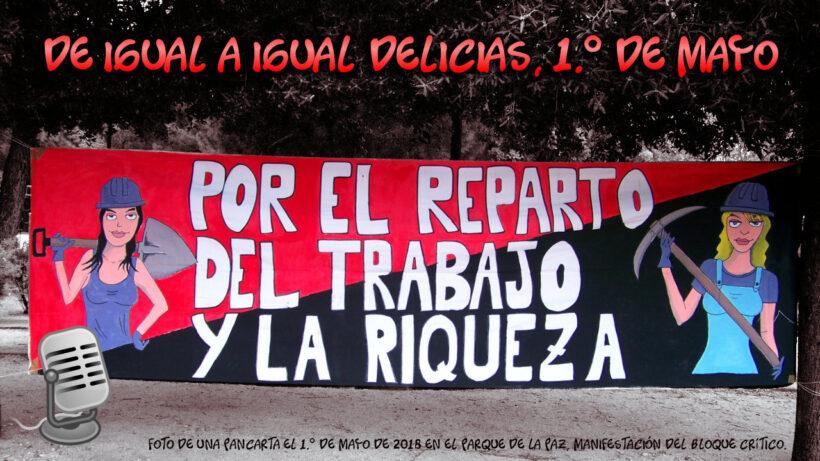 Primero de Mayo Día de las Trabajadoras (cartel)
